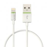 Cablu de date Leitz Complete Lightning - USB, 30 cm, alb
