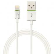 Cablu de date Leitz Complete Lightning - USB, 1 m, alb