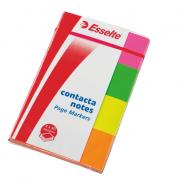 INDEX CONTACTA 20X50MM 4/SET HARTIE