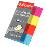 INDEX CONTACTA 20X50MM 4/SET PLASTIC