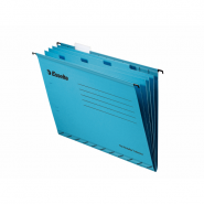 Dosar suspendabil Pendaflex cu separatoare, albastru