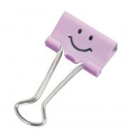 Binder clip RAP 19mm Emoticon 20 buc/cutie