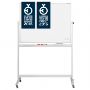 Whiteboard MGN mobil, SP 1200 x 900 mm