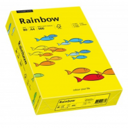 HARTIE COP A4 RAYNBOW GALBEN INTENS,80GR,500COLI/TOP