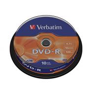 DVD-R VERBATIM 10/BULK
