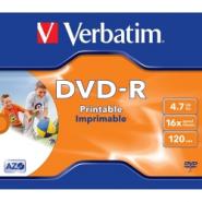 DVD-R VERBATIM PRINTABIL 10/BULK