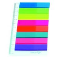 POST IT INDEX 12*45 PLASTIC 8 CULORI/SET SIMPLU