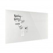 Design Glassboard magnetic alb stralucitor 2000*1000 mm