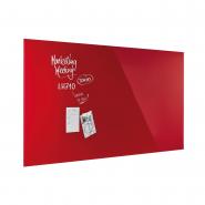 Design Glassboard magnetic rosu intens 2000*1000 mm