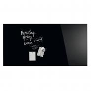 Design Glassboard magnetic negru 2000*1000 mm