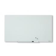 Tabla NOBO Diamond magnetica din sticla, 993x559mm, alb