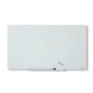Tabla NOBO Diamond magnetica din sticla, 1264x711mm, alb