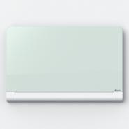 Tabla NOBO Diamond magnetica din sticla, cu colturi rotunjite, 1264x711mm, alb