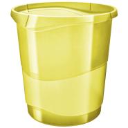 Cos hartii Esselte Colour'Ice, 14l, galben