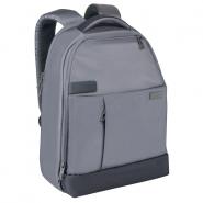Rucsac Leitz Complete pentru Laptop 13.3'' Smart Traveler, gri-argintiu