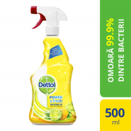 DETTOL Trigger Sparkling Lemon 500ML
