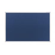 Panou textil MAGNETOPLAN SP rama aluminiu, 1500 x 1000 mm, albastru
