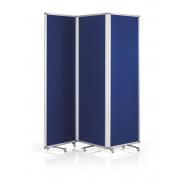 Panou prezentare MAGNETOPLAN mobil PLIABIL, 3*1810x610x360 mm, albastru