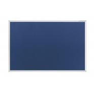 Panou textil MAGNETOPLAN SP rama aluminiu, 900 x 600 mm, albastru