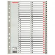 Index din plastic, A4, 1-54