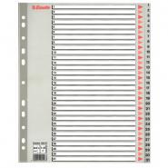 Index din plastic, A4, 1-31, MAXI
