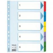 Index Mylar A4, 1-5