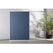 Panou despartitor MGN textil, 1800x1250x500 mm, albastru