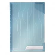 Mapa CombiFile, cu eticheta, albastru, 5 buc/set
