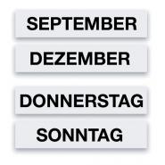 Calendar magnetic zilele saptamanii MGN