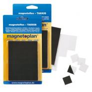 Patratele magnetice MGN Takkis 20x20x0.75mm, 60 buc/set