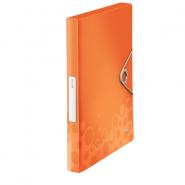 Mapa Jumbo Bebop cu elastic, portocaliu