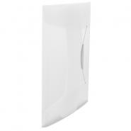 Mapa plastic VIVIDA cu elastic, alb