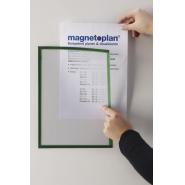 Folie magnetica MGN rama verde, A3, 5 buc/set