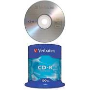 CD-R VERBATIM 52*700 MB 100BUC/BULK