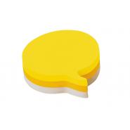Notite adezive Post-it, forma idee, galben, 225 file/pachet