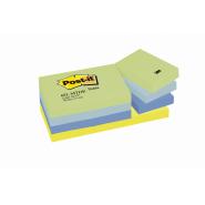 "Notite adezive Post-it neon ""DREAMY"", 38*51 mm, 100 file/buc 12 buc/set"