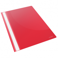 Dosar plastic Standard Esselte, VIVIDA rosu