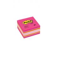 Notite adezive Post-it cub, 76*76 mm, culori vii, 450 file/buc