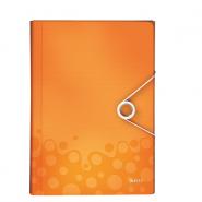 Mapă tip Proiect Leitz WOW, PP, portocaliu metalizat